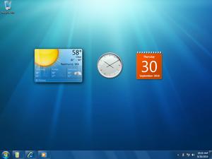 Windows 7 - Гаджеты на рабочем столе